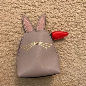 Kate Spade rabbit coin purse